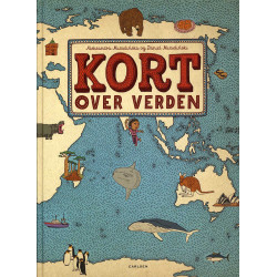 """Kort over verden"" book in..."