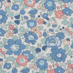 Betsy Liberty Fabrics, blå