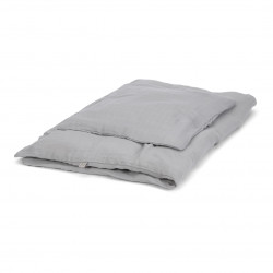 Muslin juniorbedlinen, grey