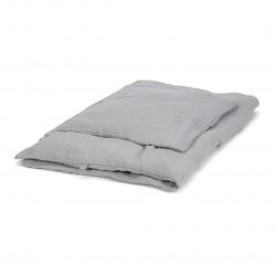 Muslin juniorsengetøj, grå