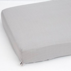 Muslin fitted sheet 70x140...
