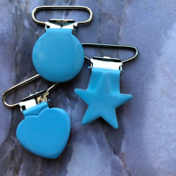 Clips for pacifier string,...