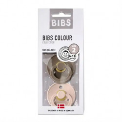 Bibs 2-Pack Dark Oak &...