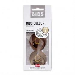 Bibs sutter 2-pack Mocha &...