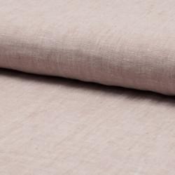 100% linen, light pink