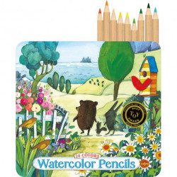 Watercolor pencils Eeboo, 24