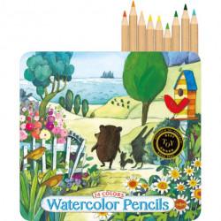 Watercolor pencils Eeboo, 24