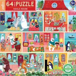 Puzzle Koala House, 64 pcs.