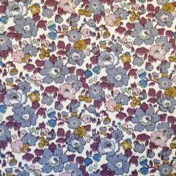 Puslehyndebetræk i Liberty, Betsy Ann grå/violet