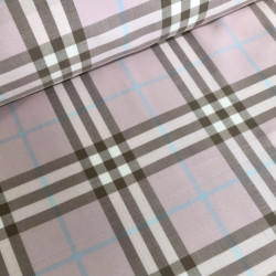 Woven cotton poplin with...
