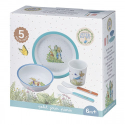 Meal set Peter Rabbit, blue