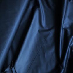 Shiny cotton poplin, dark blue