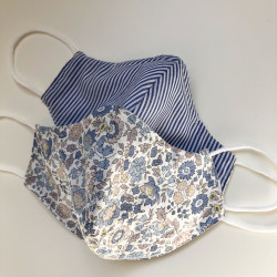 Facemask in Liberty Fabric,...