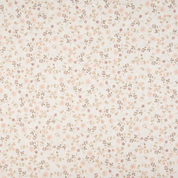 Cotton with flower print,...