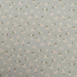 Cotton with flower print...