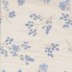 Cotton fabric Alberte,...