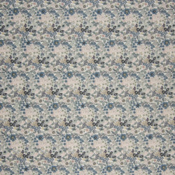 Cotton voile with flower...