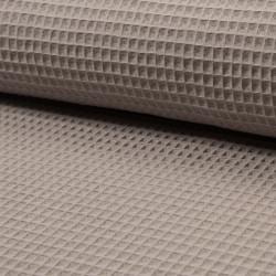 Waffel cotton - light taupe