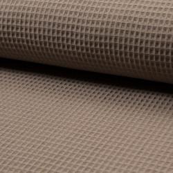 Waffel cotton - taupe