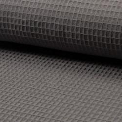 Waffel cotton - dark grey