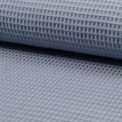 Waffel cotton - lyseblå