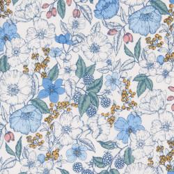 Bramble Liberty Fabrics, blue
