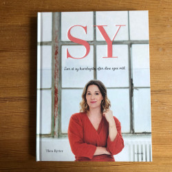"""Sewing book in Danish: """"Sy"""""""