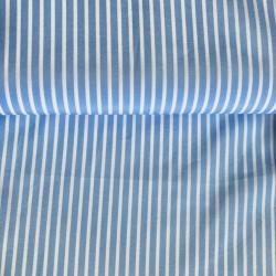 Cotton poplin with stripes,...