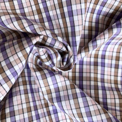Cotton poplin with small...
