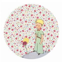 Tallerken til børn med Den lille Prins, lyserød