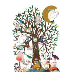 Tex og Jack plakat, Apocalyptic Tree, 50X70 cm