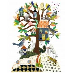 Tex og Jack plakat, Family Tree, 40X50 cm