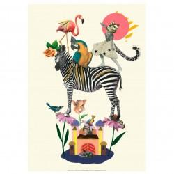 Tex og Jack plakat, Dancing Queen, 40X50 cm