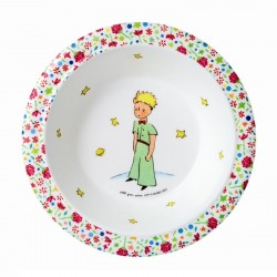 Skål til børn med Den lille Prins, pink