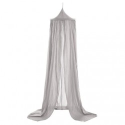 Large bed canopy, grey