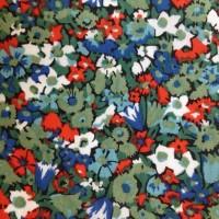 Alice Vistoria, grøn/blå/rød. Liberty London