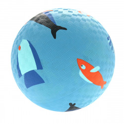 Rubber ball, sea motif