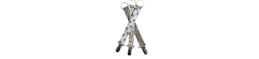 Liberty pacifier clips