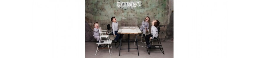 Køb prisvindende højstol og pusleborde til børn fra BudtzBendix